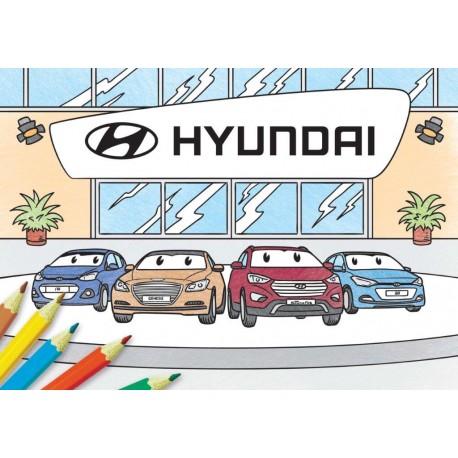 Omalovánky Hyundai
